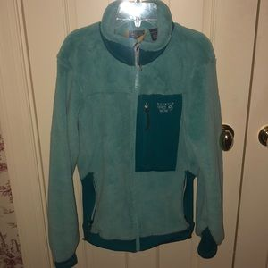 Blue Mountain Hardwear Fuzzy Zip Jacket - M